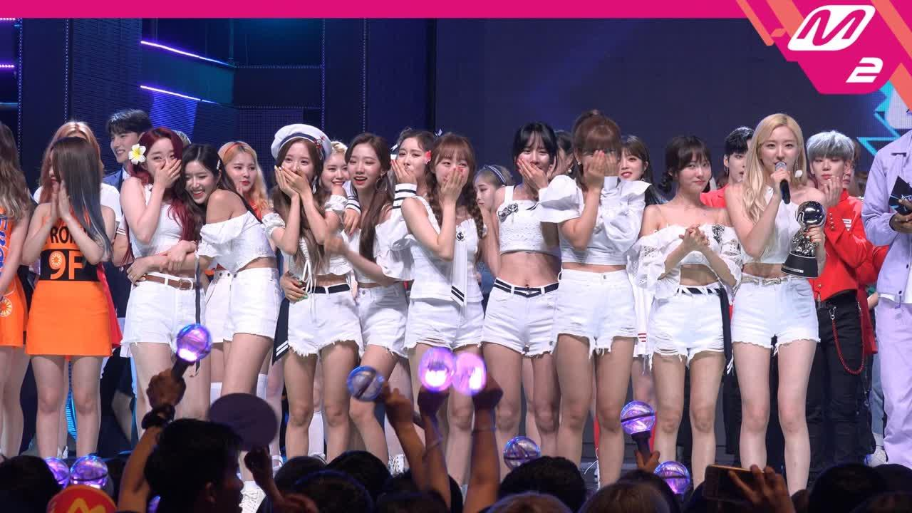1위 앵콜 직캠 4K ′우주소녀(Boogie Up)′ (Boogie Up FanCam No.1 Encore) | @MCOUNTDOWN_190613