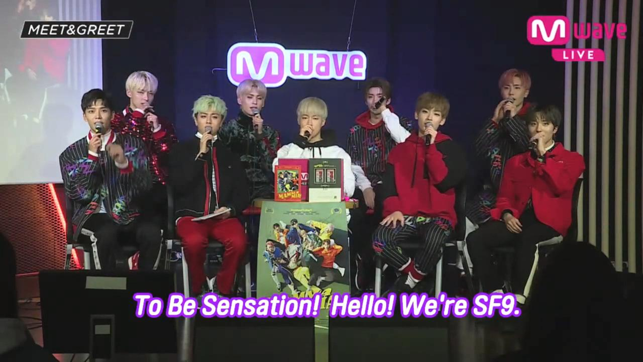SF9 [MEET&GREET]