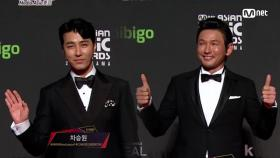 Red Carpet with Cha Seung Won(차승원) & Hwang Jung Min(황정민)2018 MAMA in HONG KONG