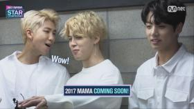 [2017 MAMA] Star Countdown D-1 by KPOP Artists_2017마마