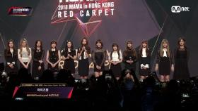 Red Carpet with IZ*ONE(아이즈원)2018 MAMA in HONG KONG