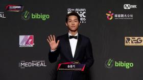 Red Carpet with Song Joong Ki(송중기)2018 MAMA in HONG KONG