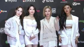 Red Carpet with MAMAMOO(마마무)2018 MAMA FANS