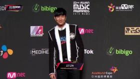 Red Carpet with JJ Lin2018 MAMA in HONG KONG
