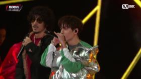 Tiger JK(타이거 JK) & Vernon(Of SEVENTEEN)_Double Up2018 MAMA in HONG KONG