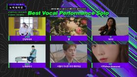[2019 MAMA] Best Vocal Performance Group/Solo Nominees