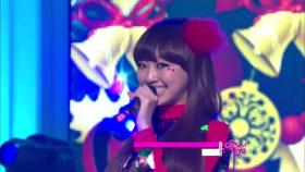 【TVPP】 씨스타 - 'All I Want For Christmas Is You' @ 쇼! 음악중심 2010