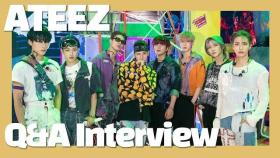 "[Q&A Interview] ATEEZ 에이티즈 ""You'll fall in love with the all-new ATEEZ. Period!""(INCEPTION) [통통TV]"